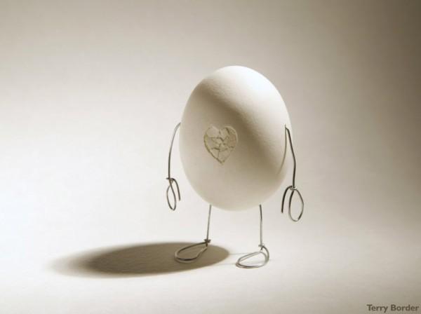 Huevo casi humano