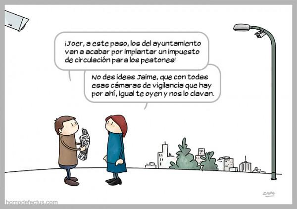 Impuesto de circulación para peatones