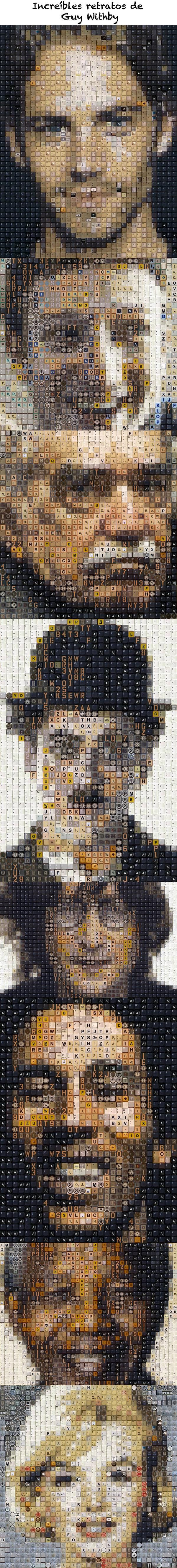 Increíbles retratos de Guy Withby