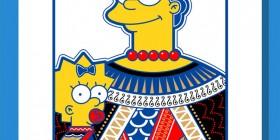 Juego de cartas de los Simpson