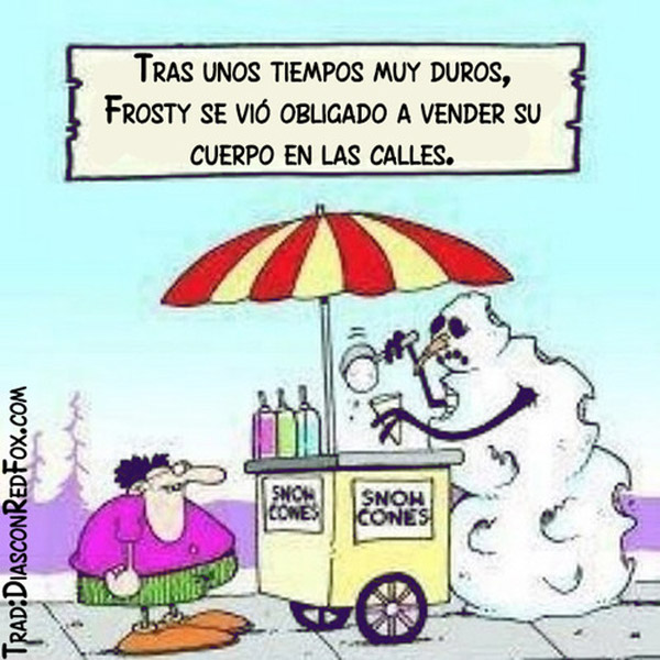 La crisis afecta a Frosty