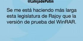 La larga legislatura de Rajoy