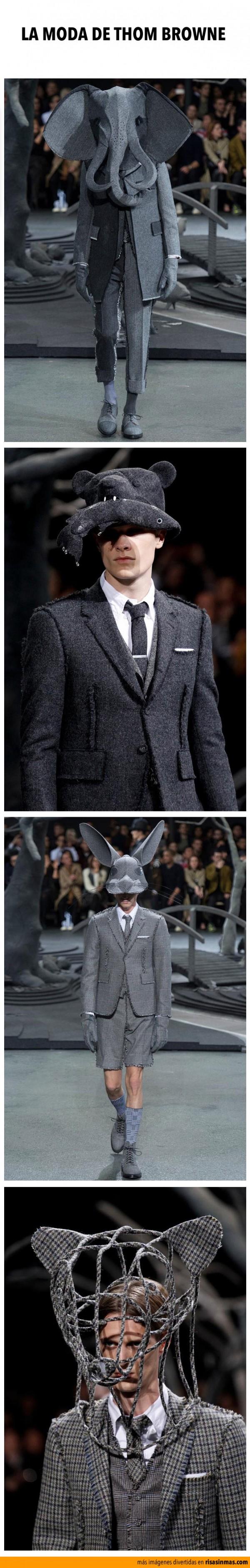La moda de Thom Browne