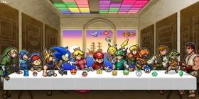 La última cena versión videojuegos