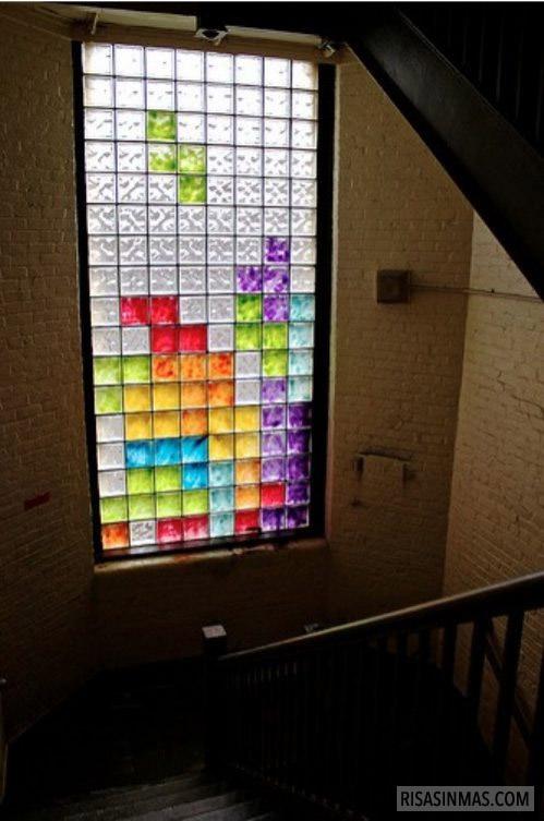 La ventana Tetris