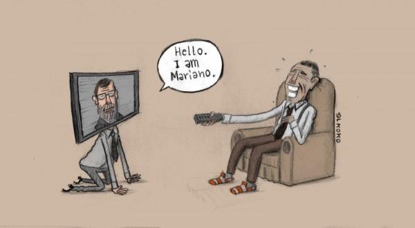 La verdad de la visita de Rajoy a Obama