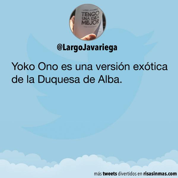 La versión exótica de la Duquesa de Alba