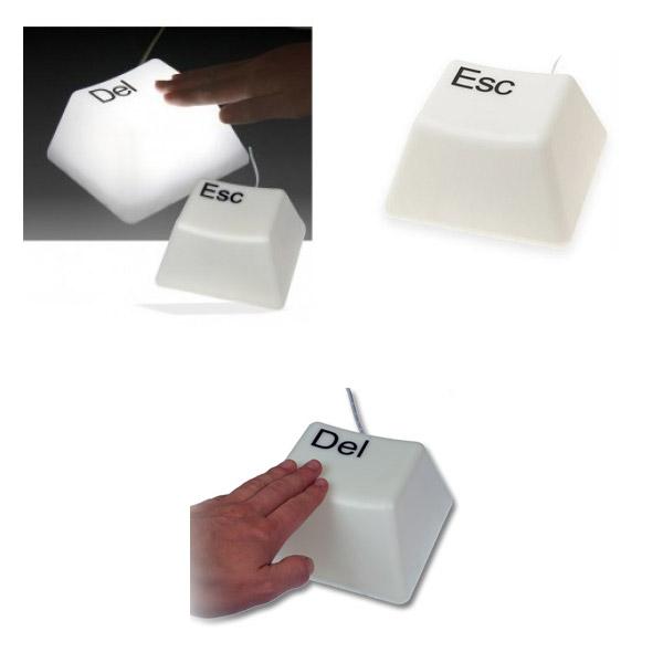 Lámpara tecla de ordenador