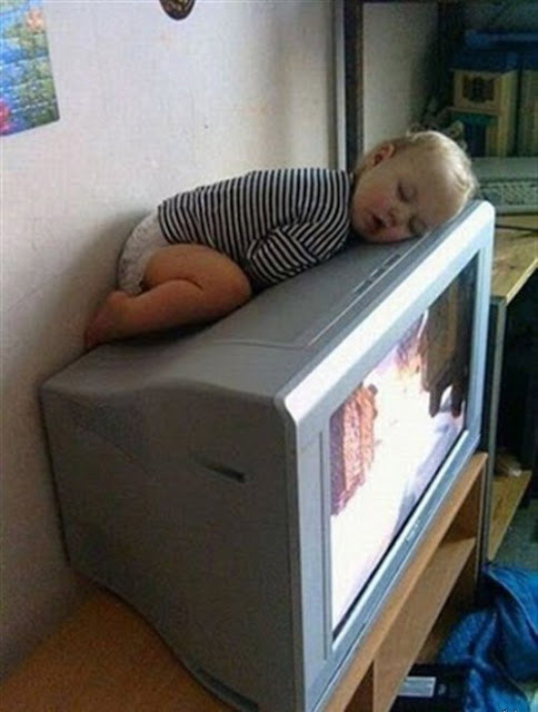 Los bebés odian las pantallas planas