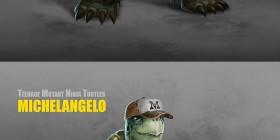 Las tortugas ninja mutantes realistas