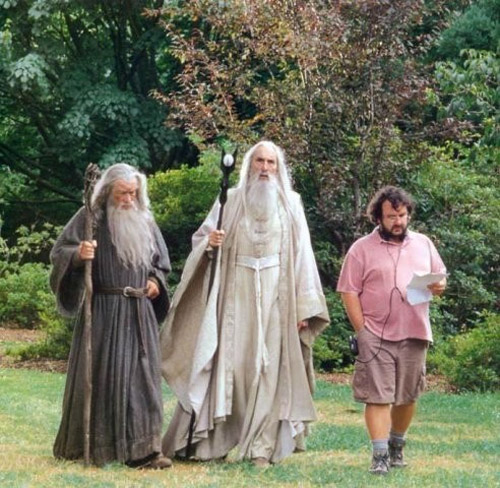 Los tres magos de El señor de los anillos