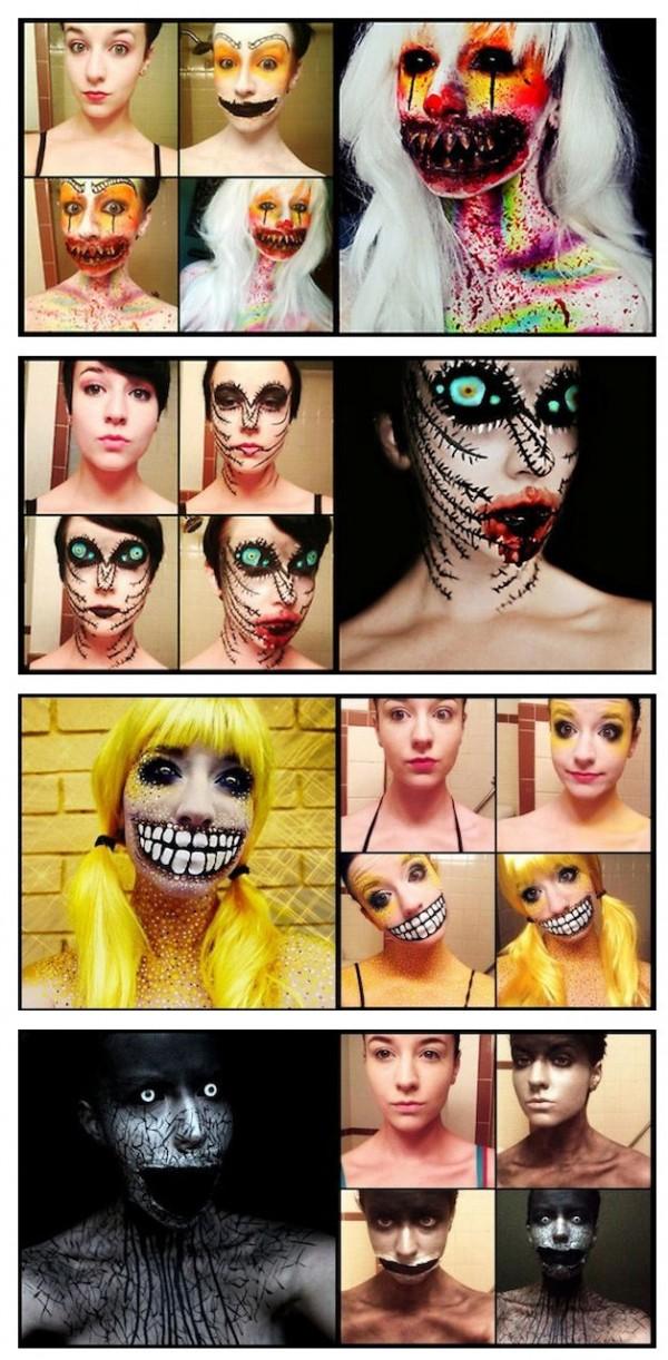 Maquillaje de miedo