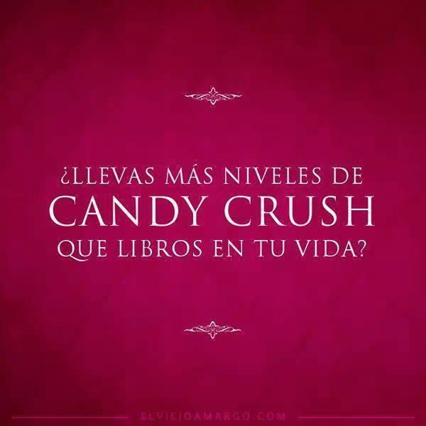 Más niveles de Candy Crush que libros