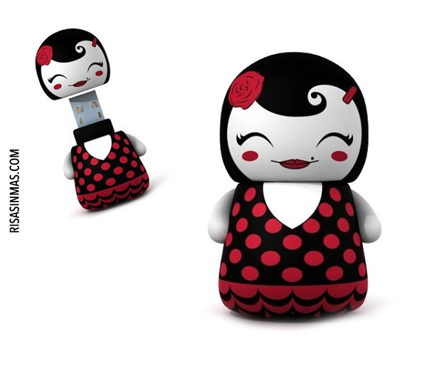 Memorias USB originales: Flamenca