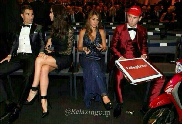 Messi trabaja en Telepizza