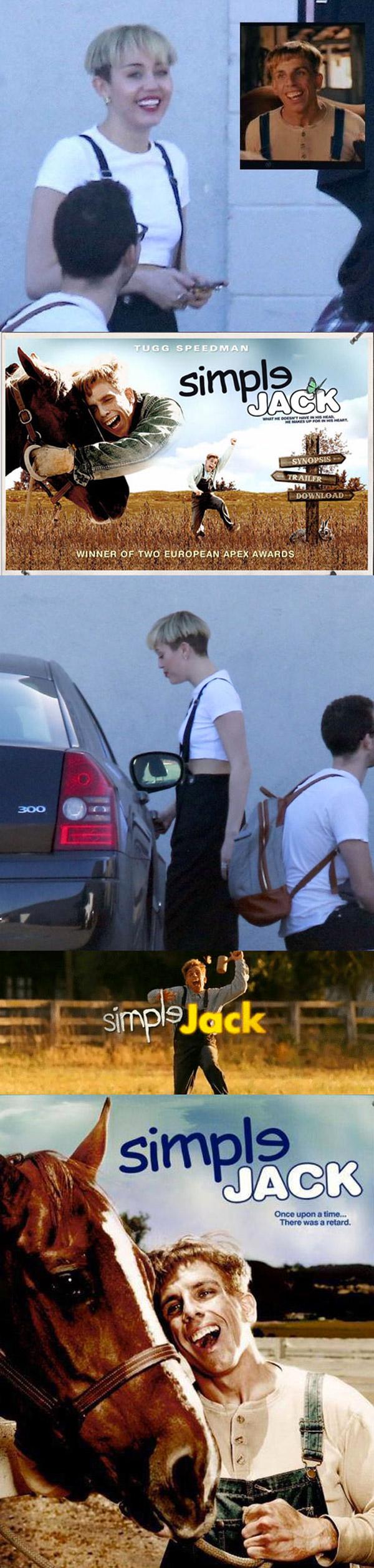 Miley Cyrus y Simple Jack