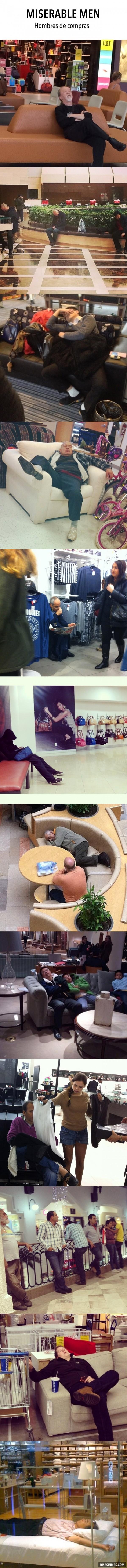 Miserable Men, hombres de compras