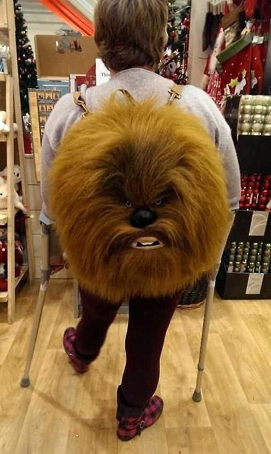 Mochilas originales: Chewbacca