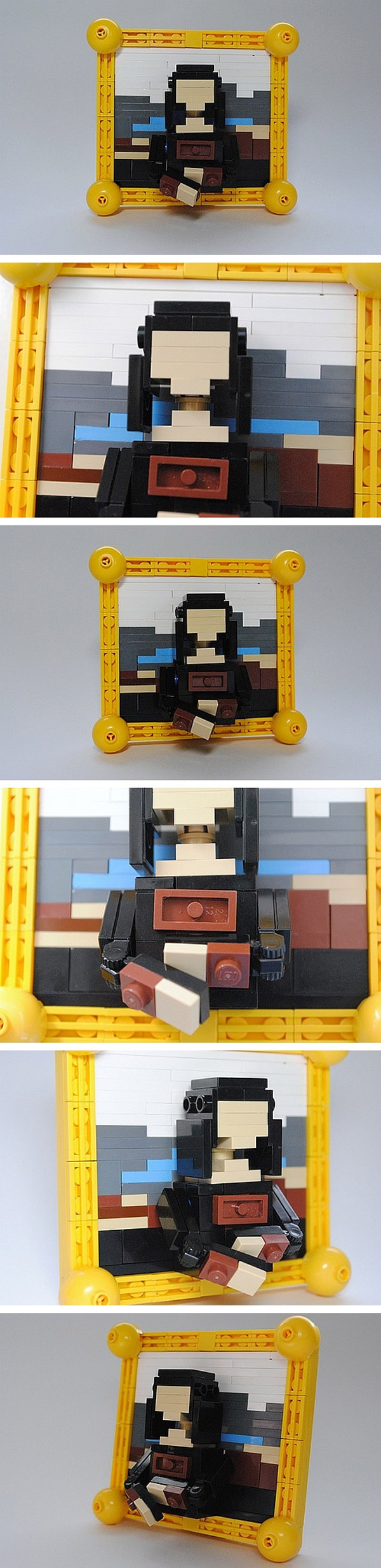 Mona Lisa de LEGO