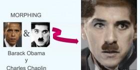 Morphing: Barack Obama y Charles Chaplin