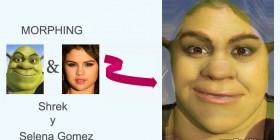 Morphing: Shrek y Selena Gomez