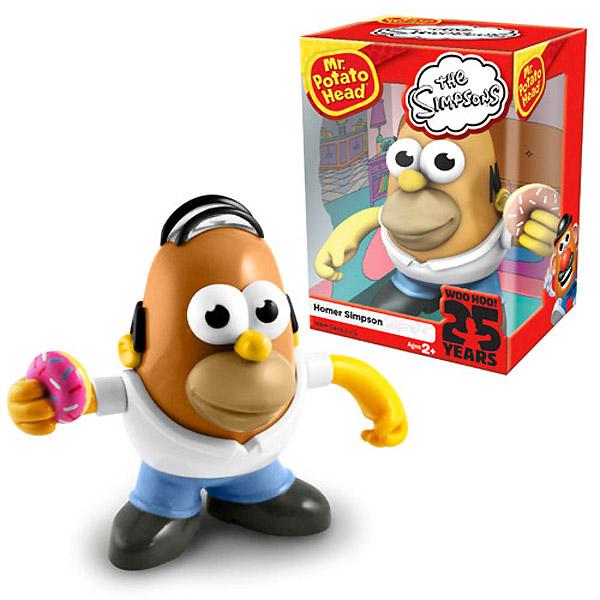 Mr. Potato como Homer Simpson