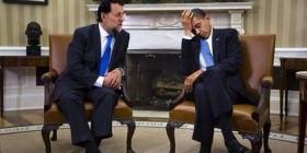 Obama se lo pasa bien con Rajoy