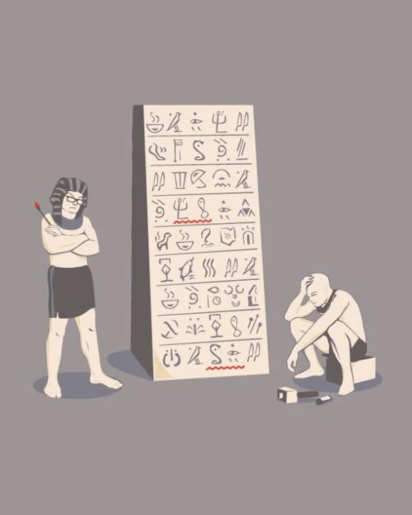 Ortografía en Egipto