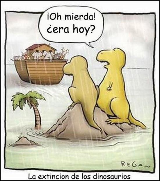 Otra teoría de la extinción de los dinosaurios
