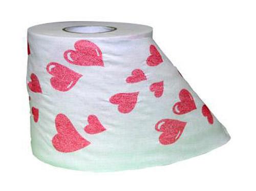 Papel higiénico San Valentín