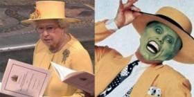 Parecidos razonables: Isabel II y La máscara