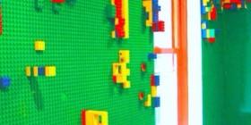 Pared de LEGO