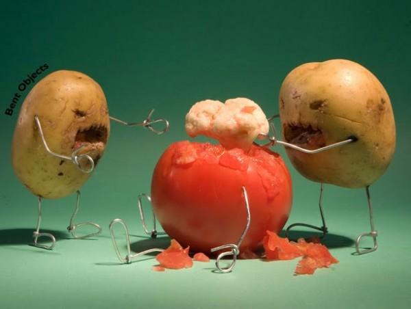 Patatas zombies