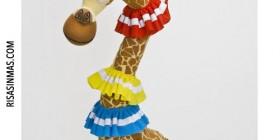 Peluche Melman la jirafa de Madagascar