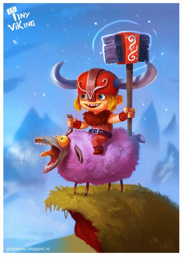 Pequeño vikingo
