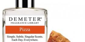 Perfume con aroma a pizza