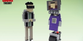 Personajes de The Big Bang Theory hechos con LEGO