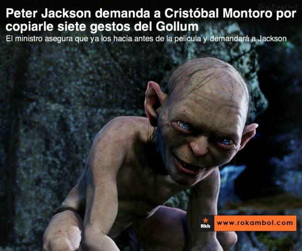 Peter Jackson demanda a Cristóbal Montoro
