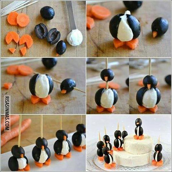 Pingüinos comestibles