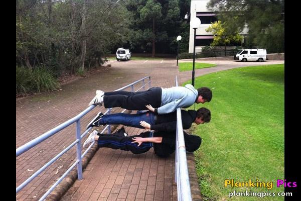 Planking entre amigos