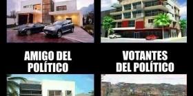Políticos vs votantes