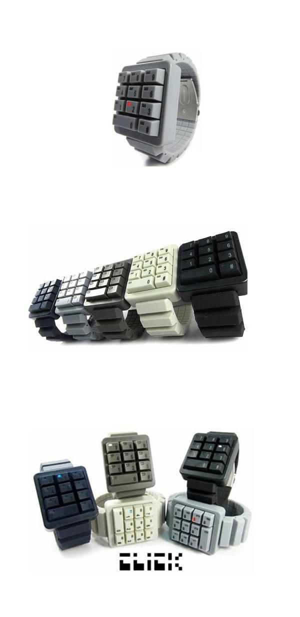 Reloj keypad