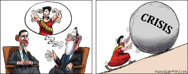 Reunión de Obama y Rajoy