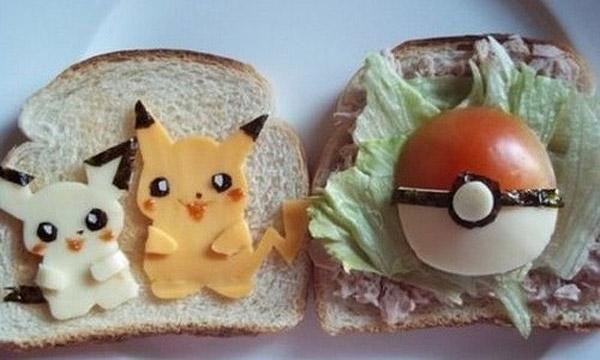 Sándwich Pokémon