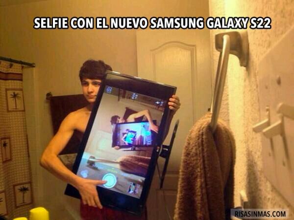 Selfie con el nuevo Samsung Galaxy S22