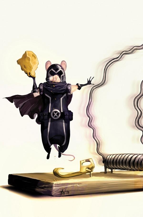 Si Magneto fuera un ratón