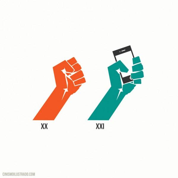 Símbolo de protesta del siglo XXI