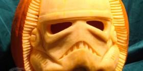 Soldado stormtrooper de calabaza