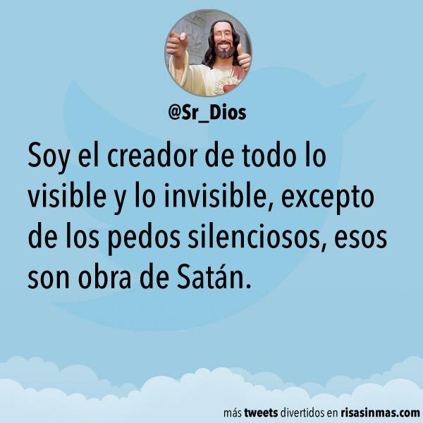 Soy el creador de todo lo visible y lo invisible