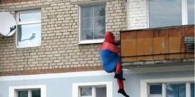 Spiderman en acción